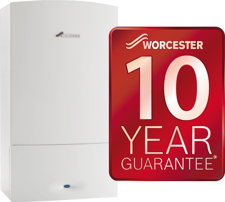 New Worcester Boiler with 10 year guarantee