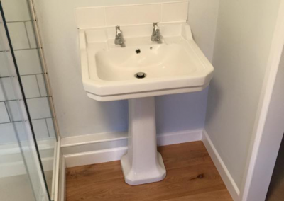 New Bathroom Sink