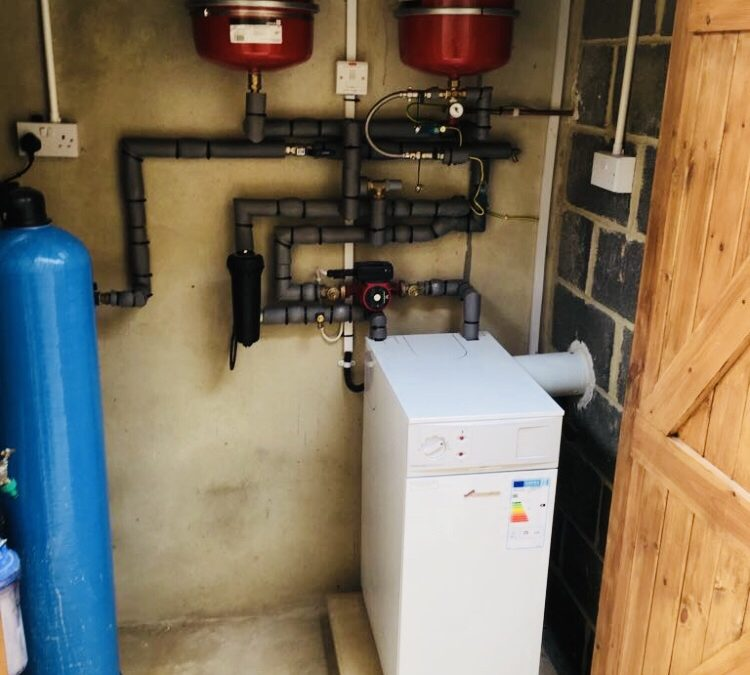 New Oil Boiler Insallation Honiton