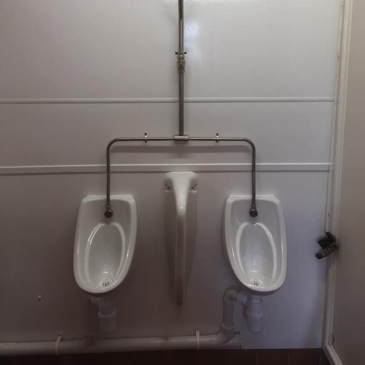 commercial urinal