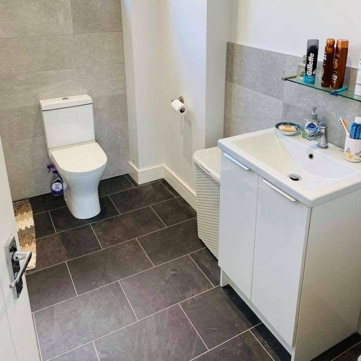 Renovated toilet